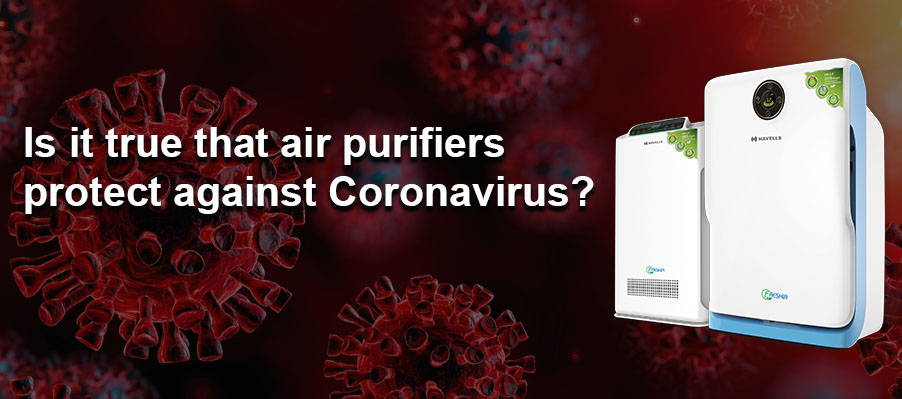 Is it true that air purifiers protect against Coronavirus?