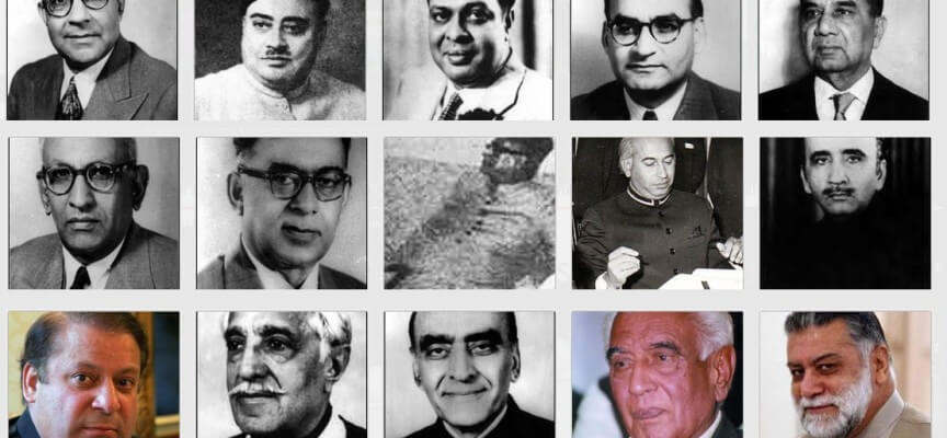 List of Prime Ministers of Pakistan