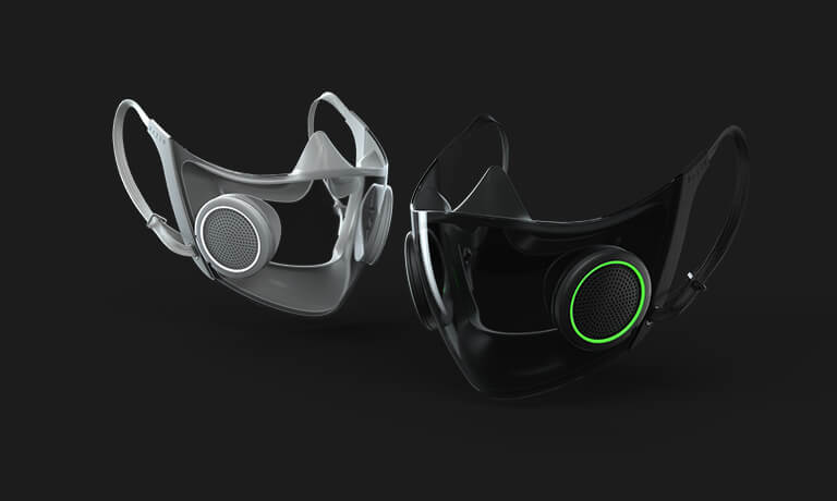 Project Hazel: The World's Smartest N95 Mask By Razer