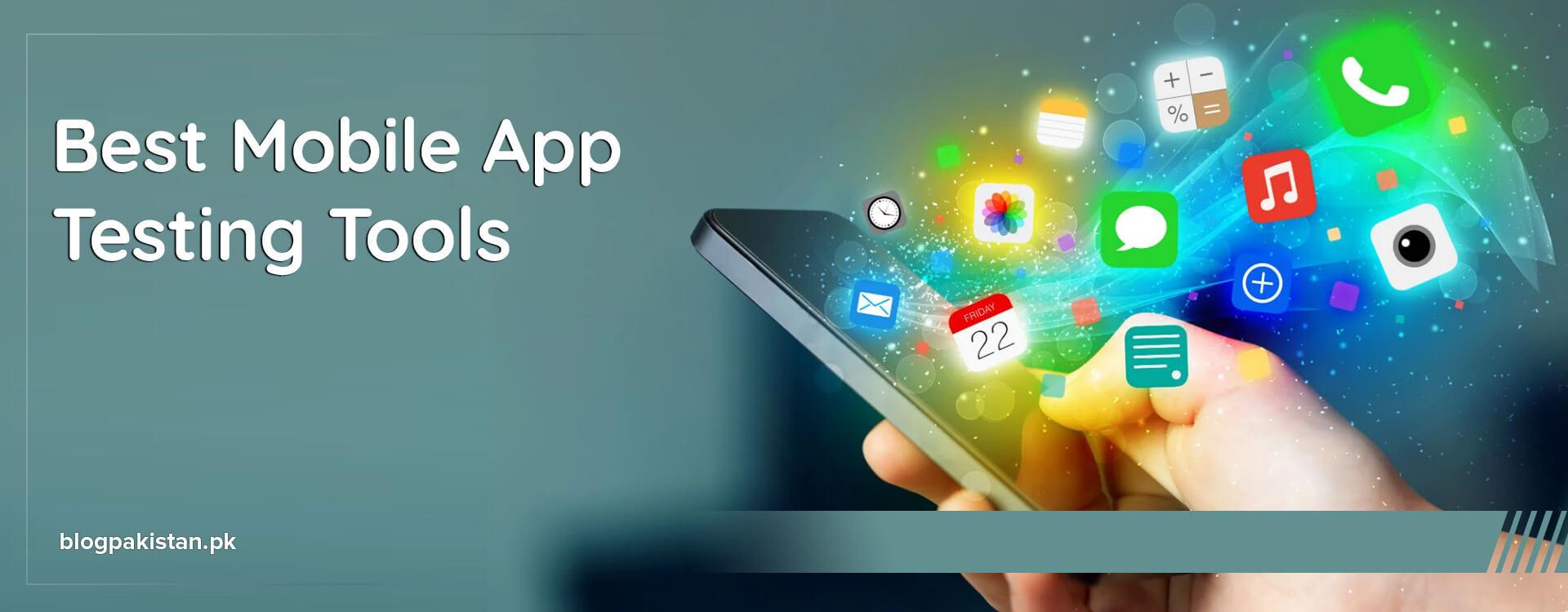 best mobile app testing tools
