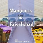 Marquees in Faisalabad