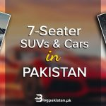 7-seater SUVs and Cars in Pakistan