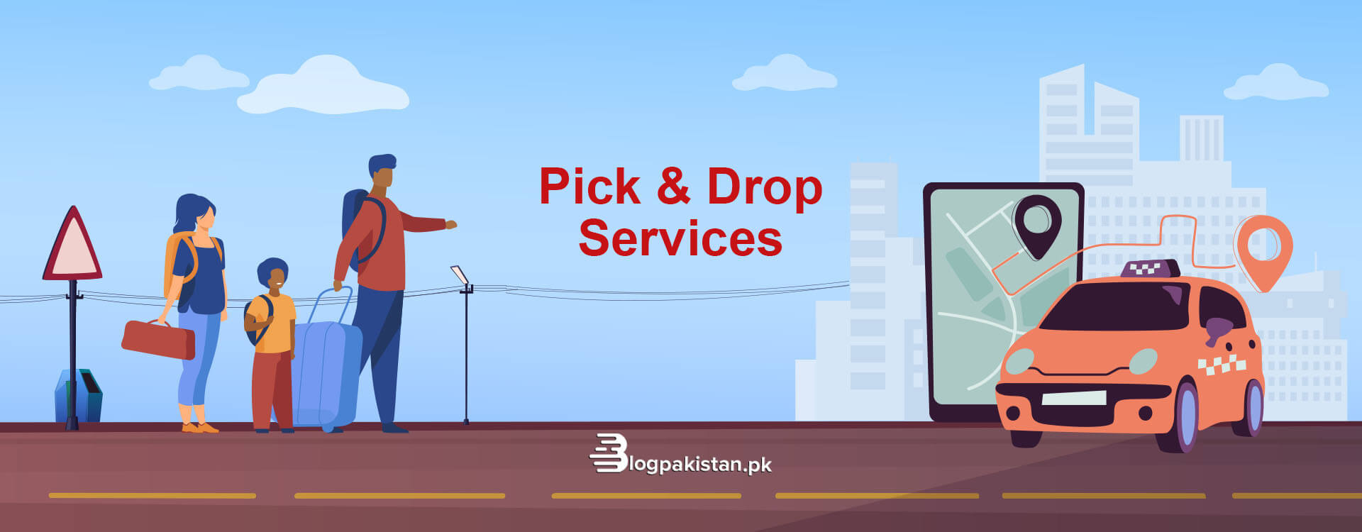 Pick and Drop Services in Karachi