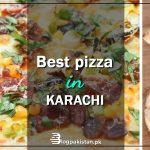 best pizza in Karachi