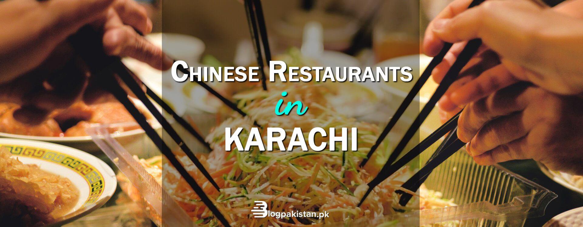Chinese Restaurants in Karachi