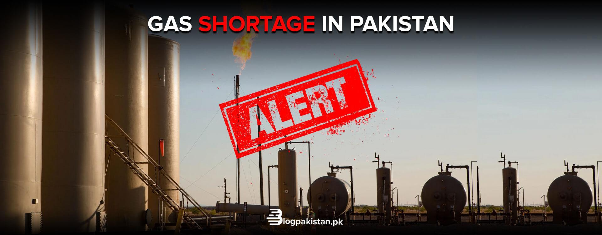 gas crisis in Pakistan