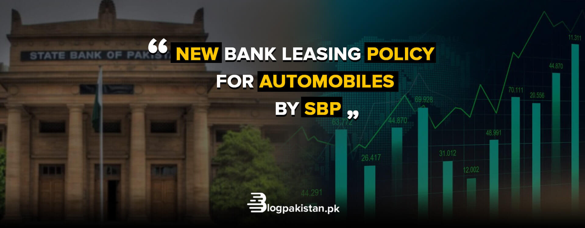leasing policy for automobiles by SBP