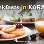 Breakfast in Karachi