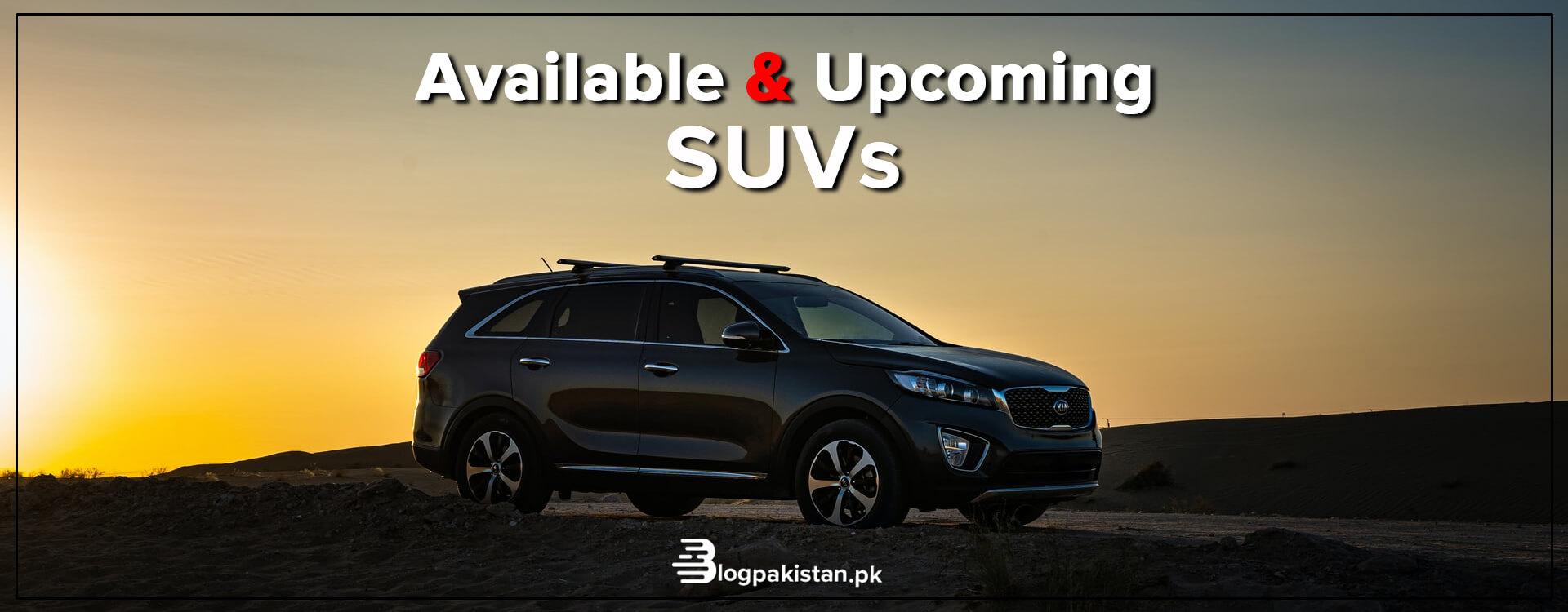 SUVs in pakistan
